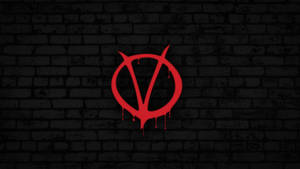 V for Vendetta Logo Wallpaper