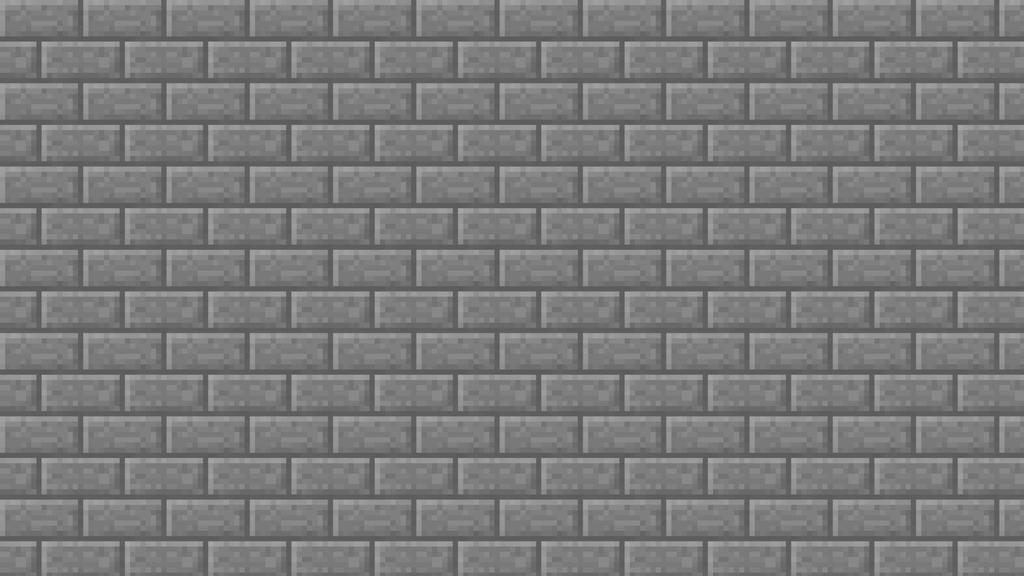 Minecraft Stone Brick Simple Texture Wallpaper by elbarnzo ...