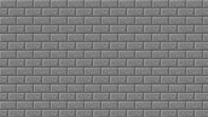 Minecraft Stone Brick Simple Texture Wallpaper