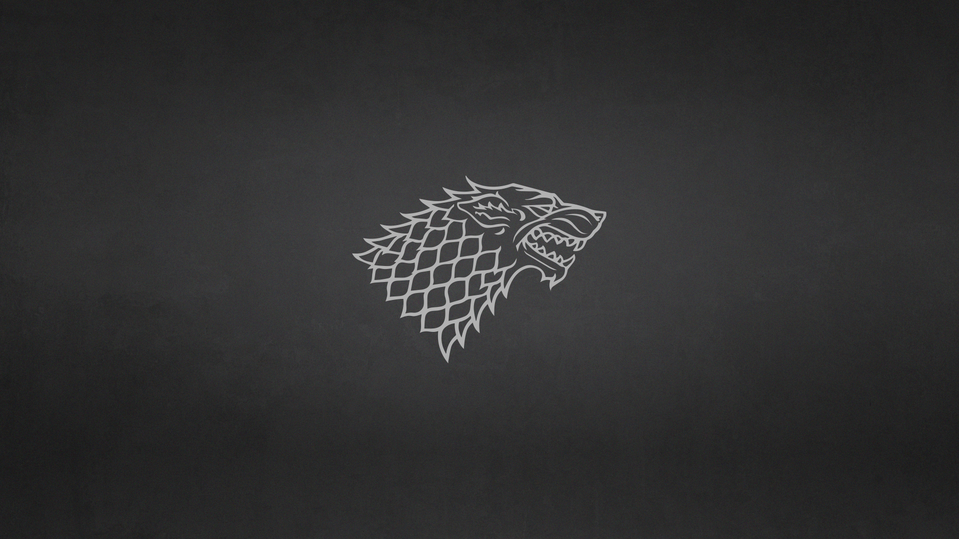 Game of Thrones: House Stark Minimalist Wallpaper