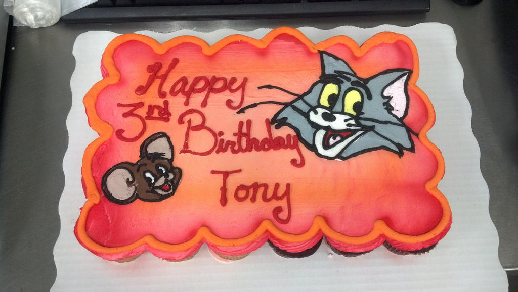 Tom and Jerry cupcakes by WheresTheDanger on DeviantArt