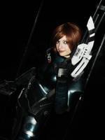 Commander Shepard by IssssE