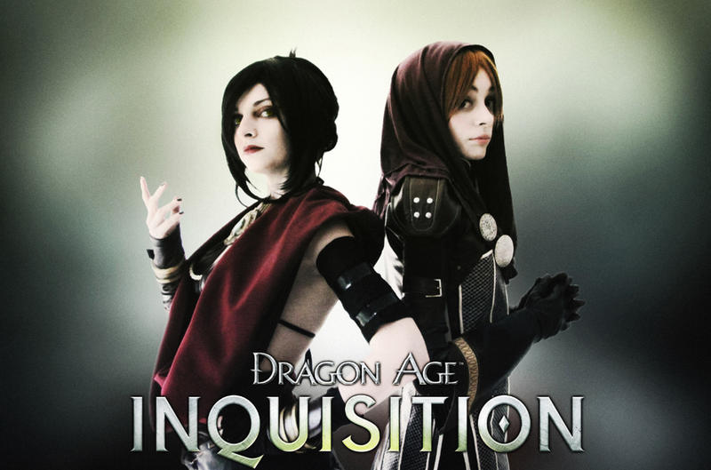 Leliana and Morrigan - DAI by IssssE