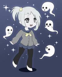 .:little ghosts:. by Hiiragi-san