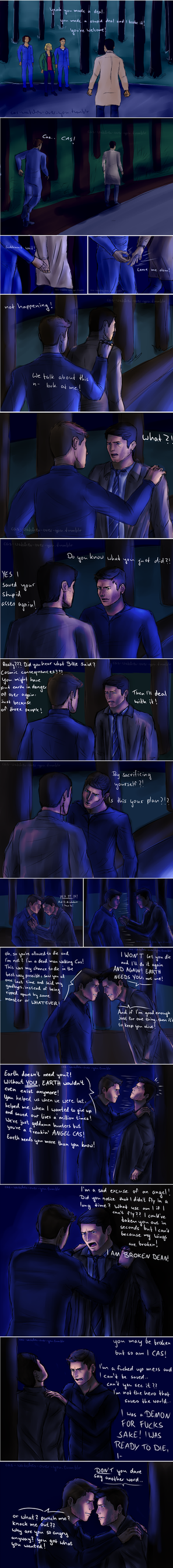 12x09 destiel comic part 1 by tiny-fallen-angel