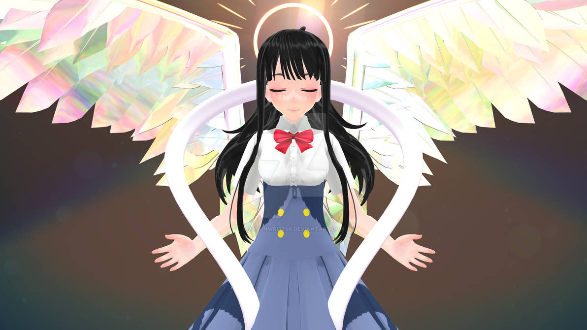 Megami's mother as an Angel