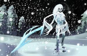 Winter Diana by jayuu
