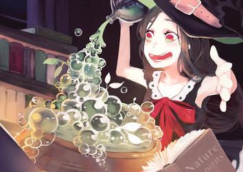 bubbles by jayuu