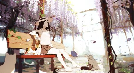 spring bloom by jayuu