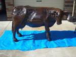 wip steel cow
