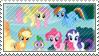 Ponies Stamp by VideoGameRaptor