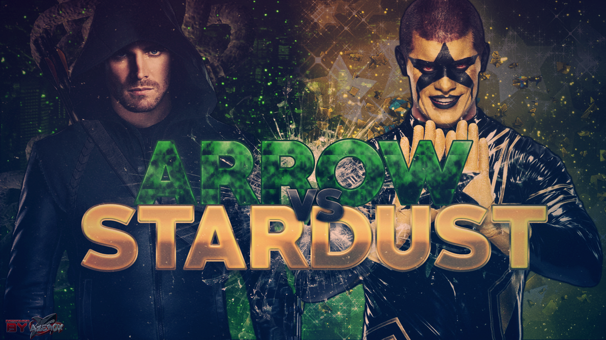 Great Wallpaper Movie Stardust - arrow_vs_stardust__wwe__by_azer0xhd-d9re0pq  Trends_458630.png