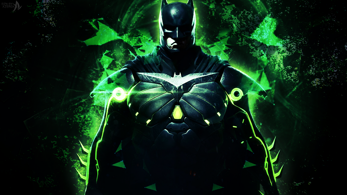 BATMAN KRYPTONITE ARMOR INJUSTICE 2 By Azer0xHD