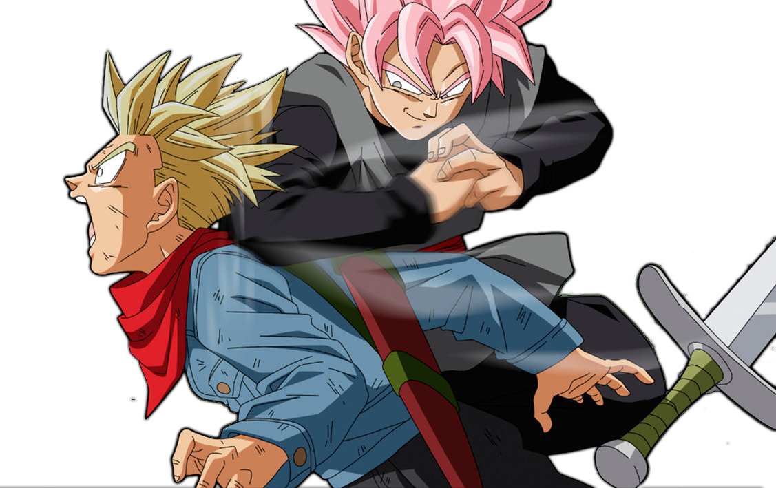 goku black vs trunks dragon ball super by azer0xhd on deviantart. Black Bedroom Furniture Sets. Home Design Ideas