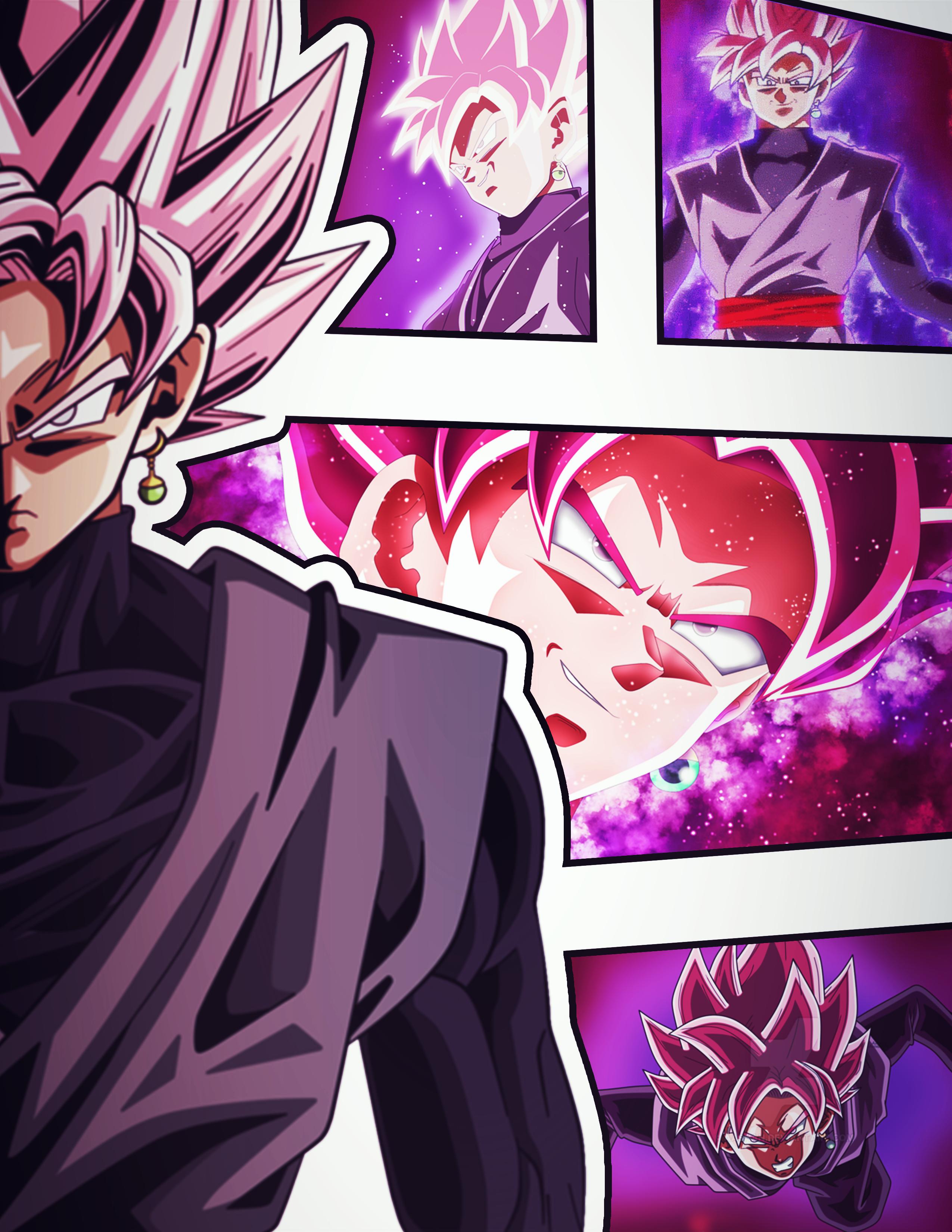 Goku Black Super Saiyan Rose By Azer0xhd On Deviantart