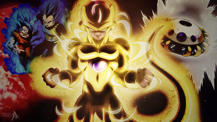 THE EMPEROR OF UNIVERSE 7, TRUE GOLDEN FRIEZA ! by Azer0xHD