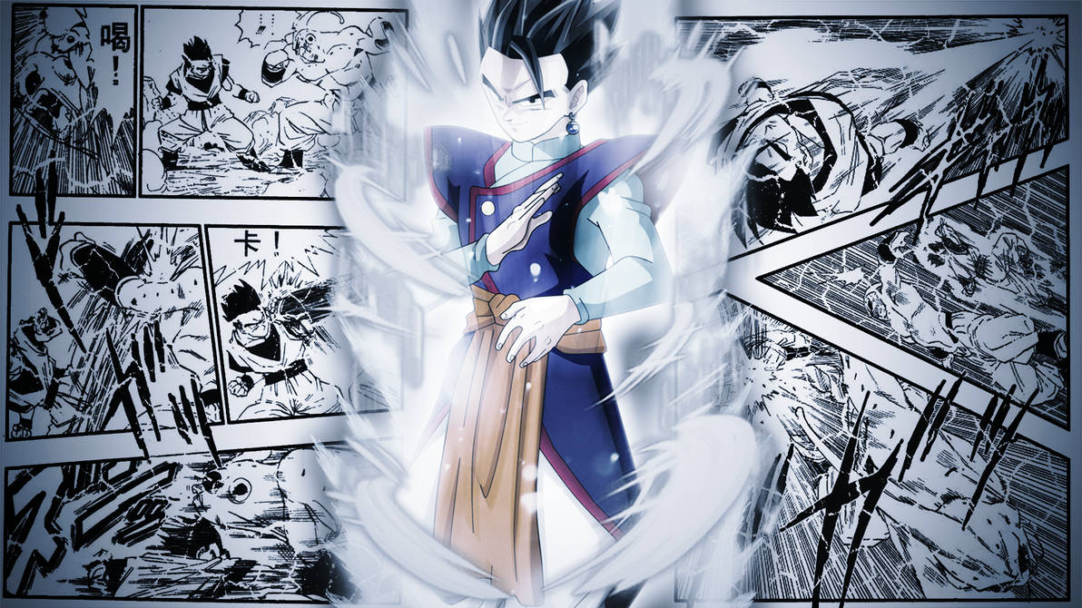 ULTIMATE GOHAN, A MYSTIC FORCES ! by Azer0xHD