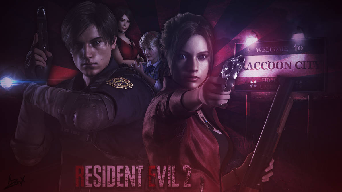 RESIDENT EVIL 2 : REMAKE by Azer0xHD