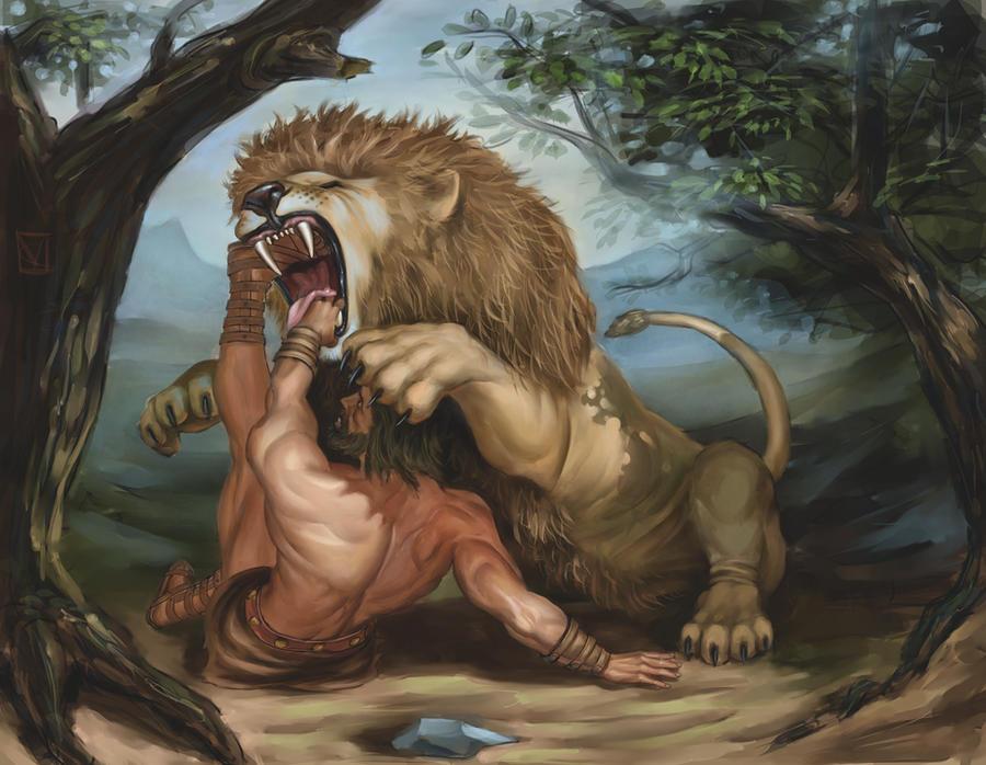 The Nemean Lion.. by kostas78 on DeviantArt