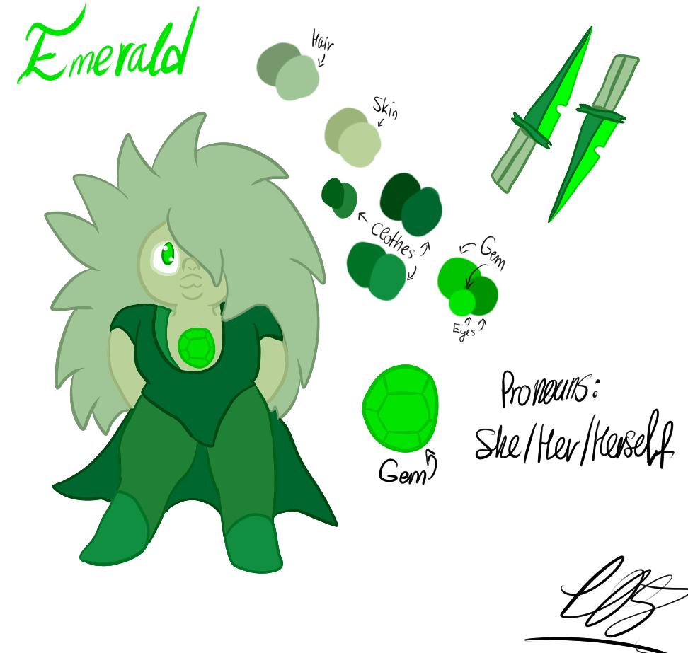 Emerald Redesign by Foziz105