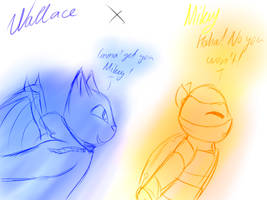 Wallace x Mikey (OTP 200+ Watchers Special) by Foziz105