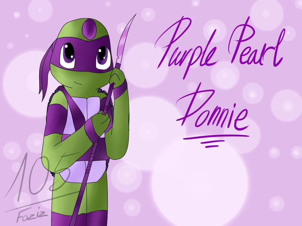 Donnie Purple Pearl [Gem Mutants AU] by Foziz105