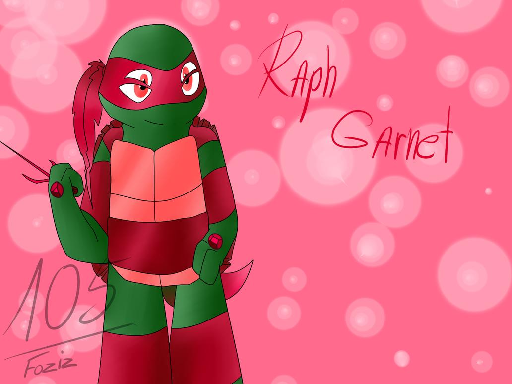 Raph Garnet [Gem Mutants AU] by Foziz105