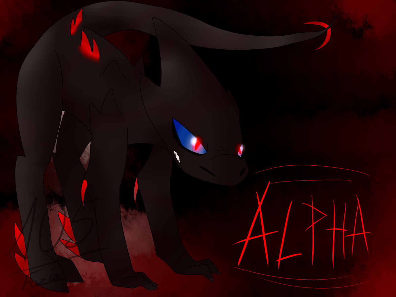 (Art Trade) Alpha by Foziz105