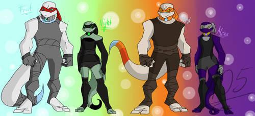 [TMNT OCs] The dragon-lizards [BIOs] [Backstory] by Foziz105