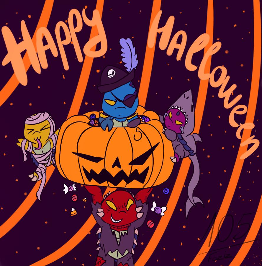 Happy Halloween !! by Foziz105