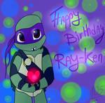 Happy Birthday Ray-Ken!