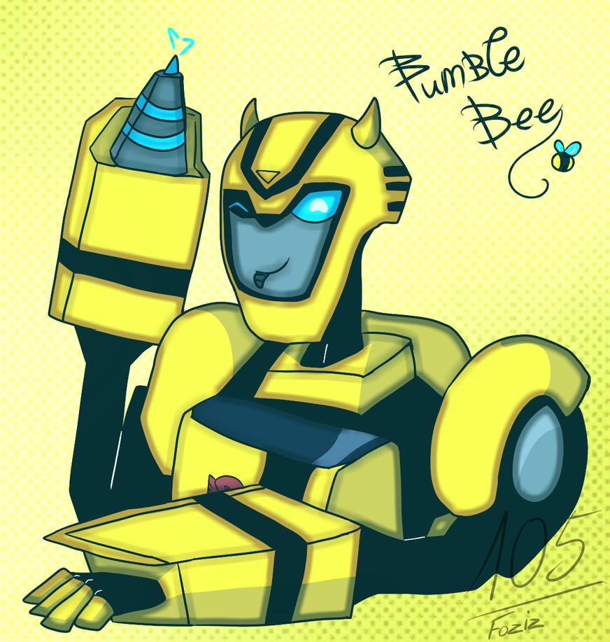 Bumblebee [Transformers Animated] by Foziz105