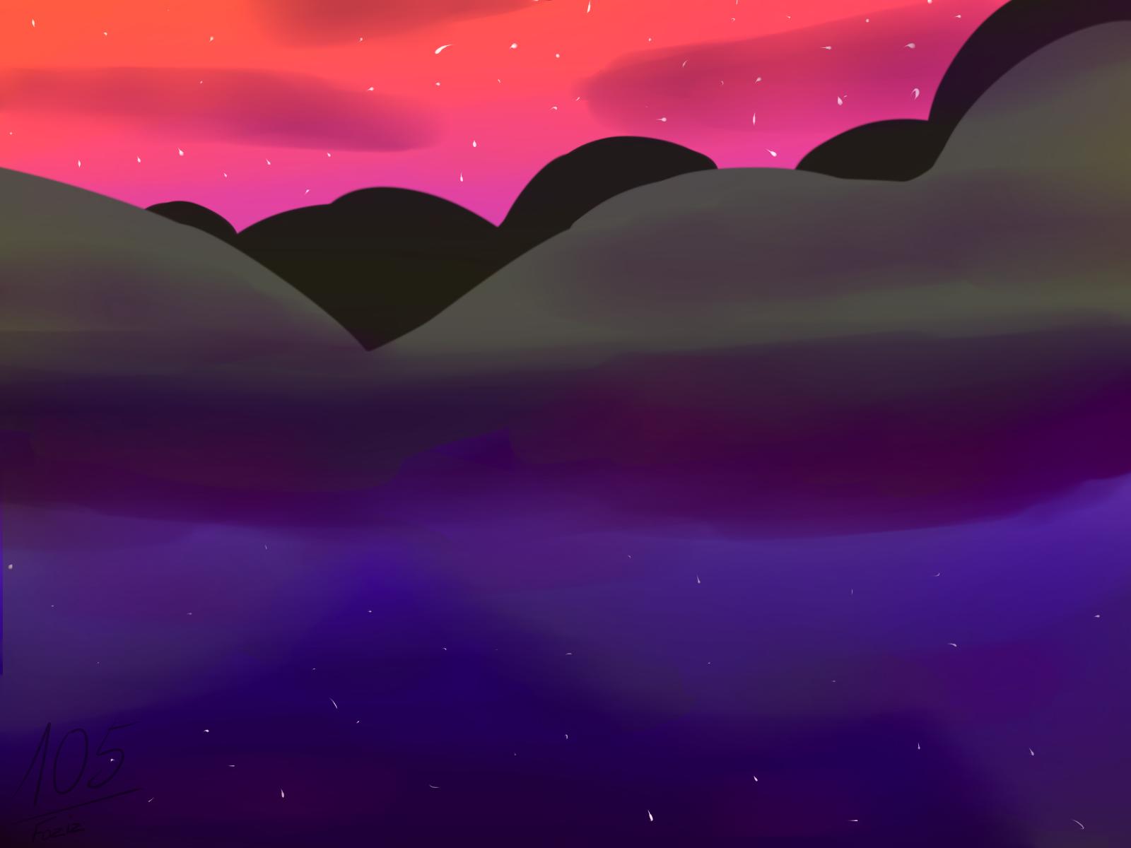 Sunset Fields [Dimension Ytram] by Foziz105