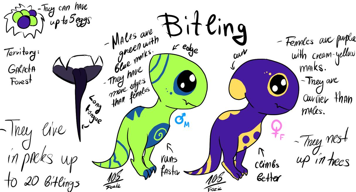 Bitling  [Dimension Ytram] by Foziz105