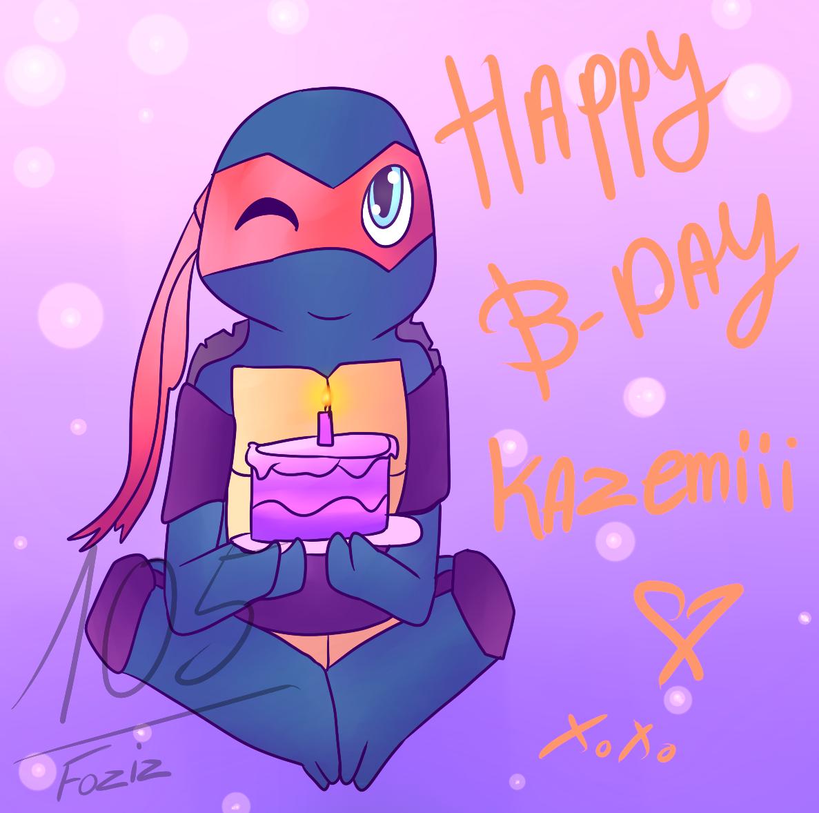 Happy B-Day! kazemiii by Foziz105