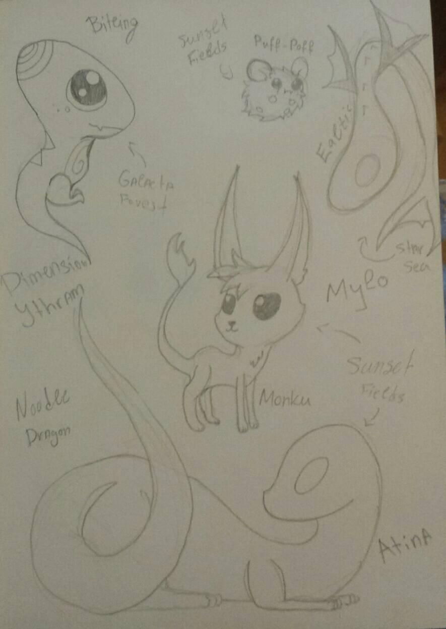 [Dimension Ytram] Creatures  by Foziz105