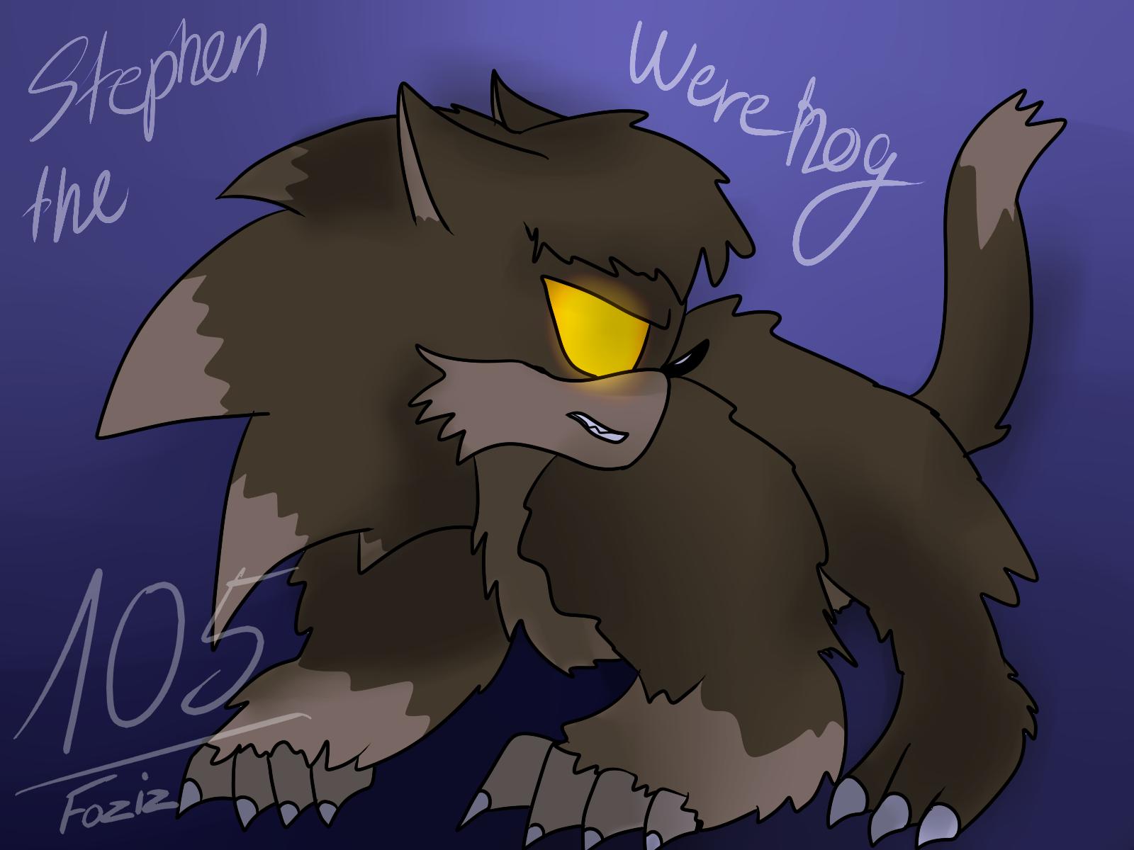 (Commission) Stephen the werehog by Foziz105