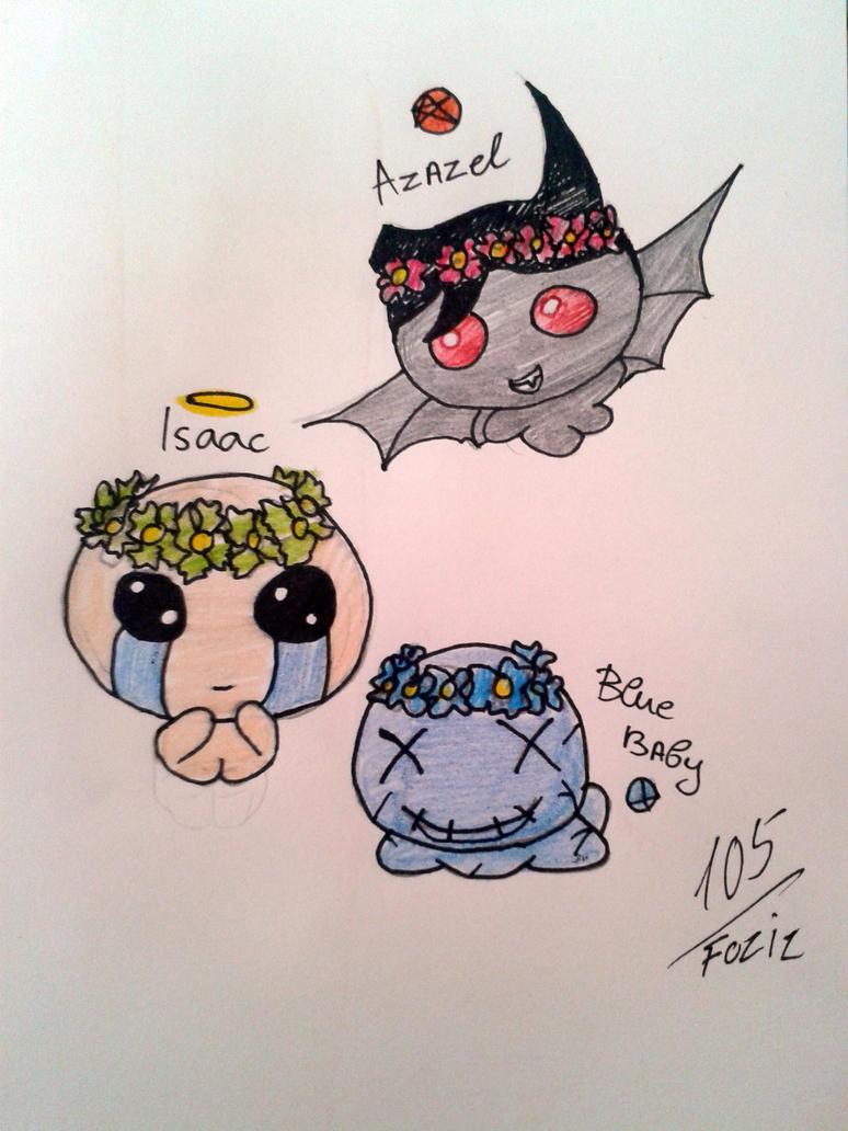 Flower Crown babs by Foziz105