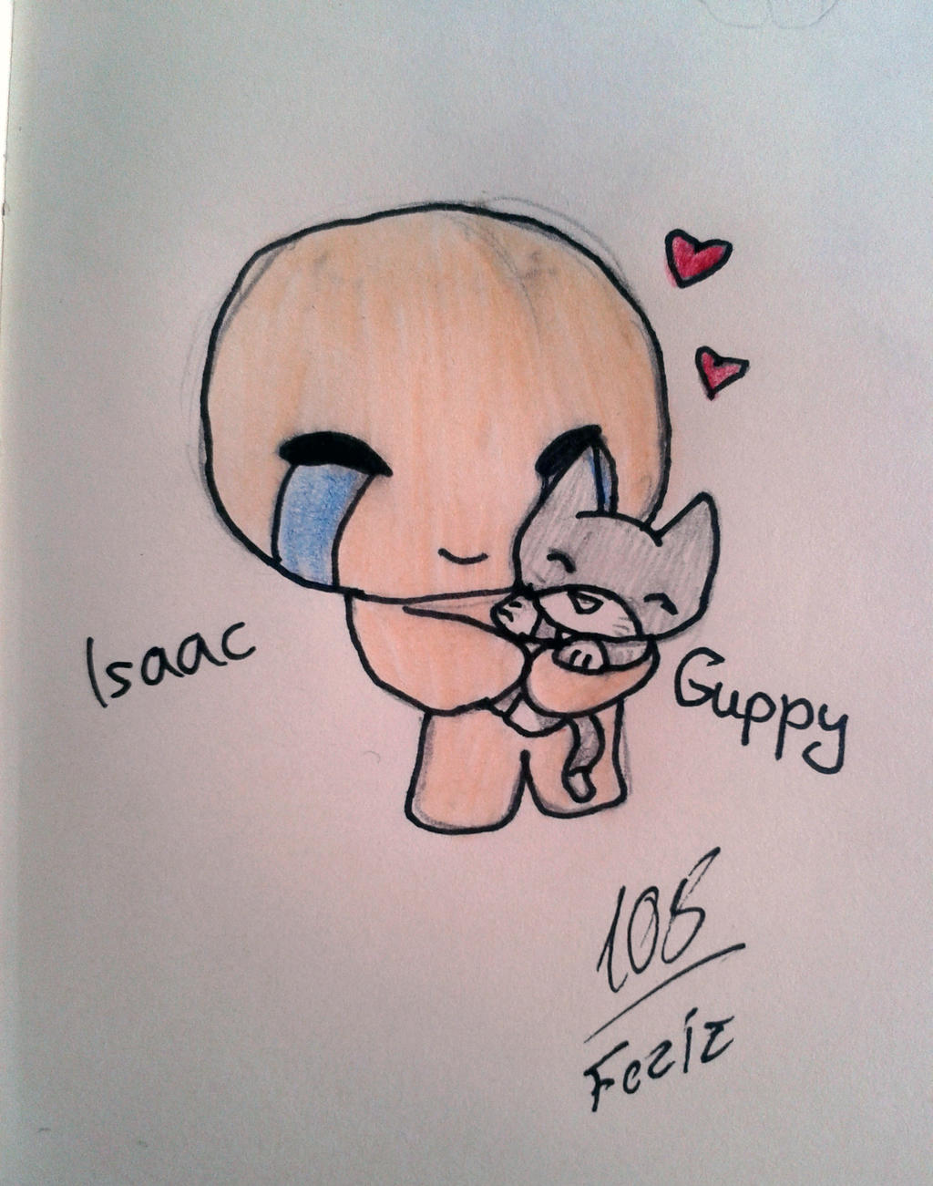 Isaac and Guppy by Foziz105