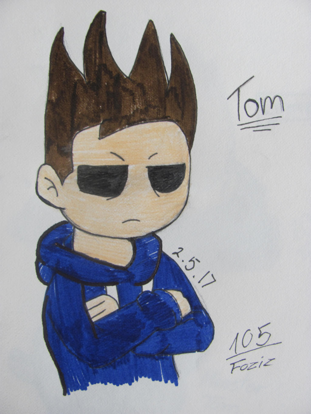 Tom [Eddsworld Fanart] by Foziz105