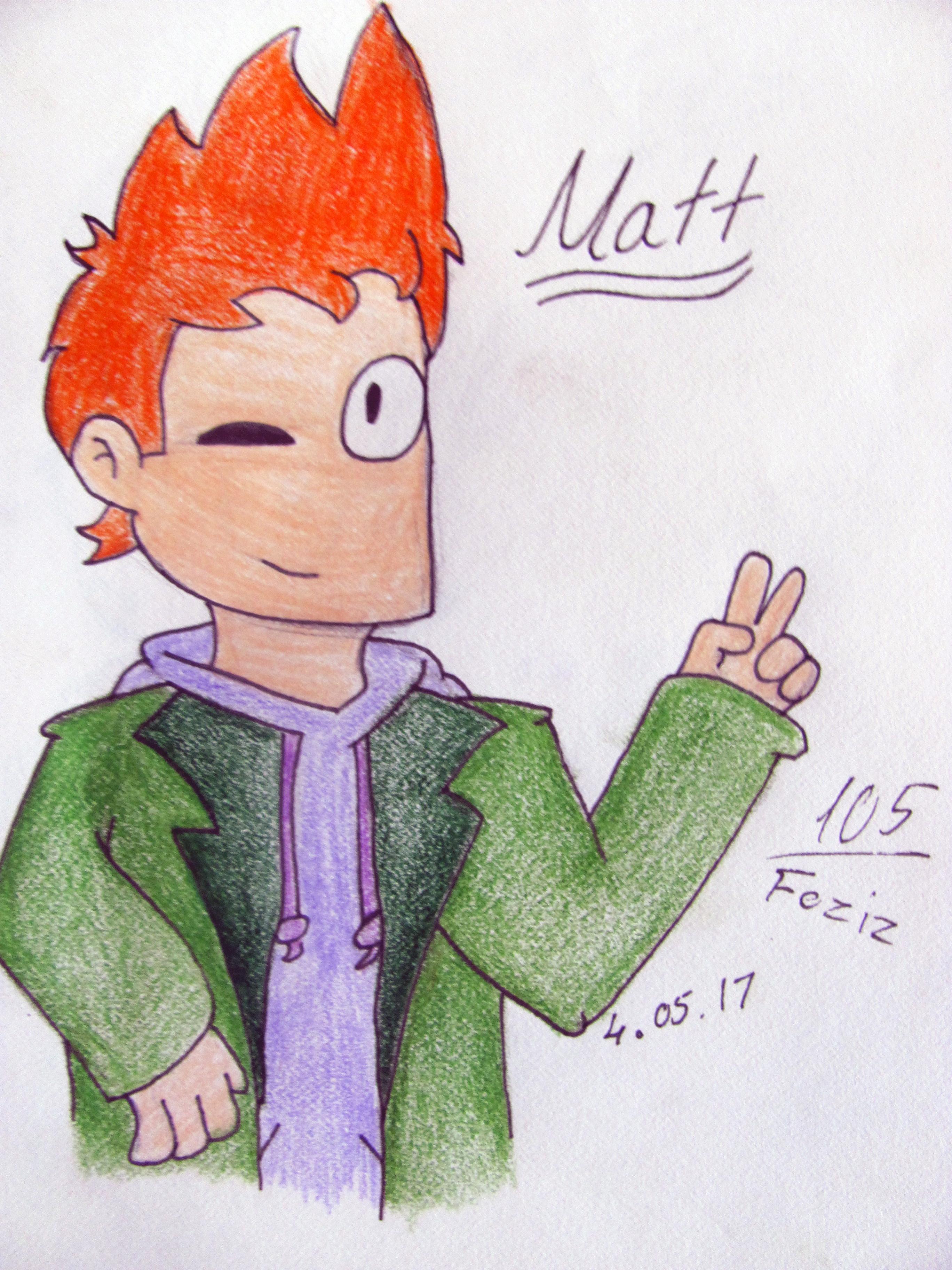 Matt [Eddsworld Fanart] by Foziz105