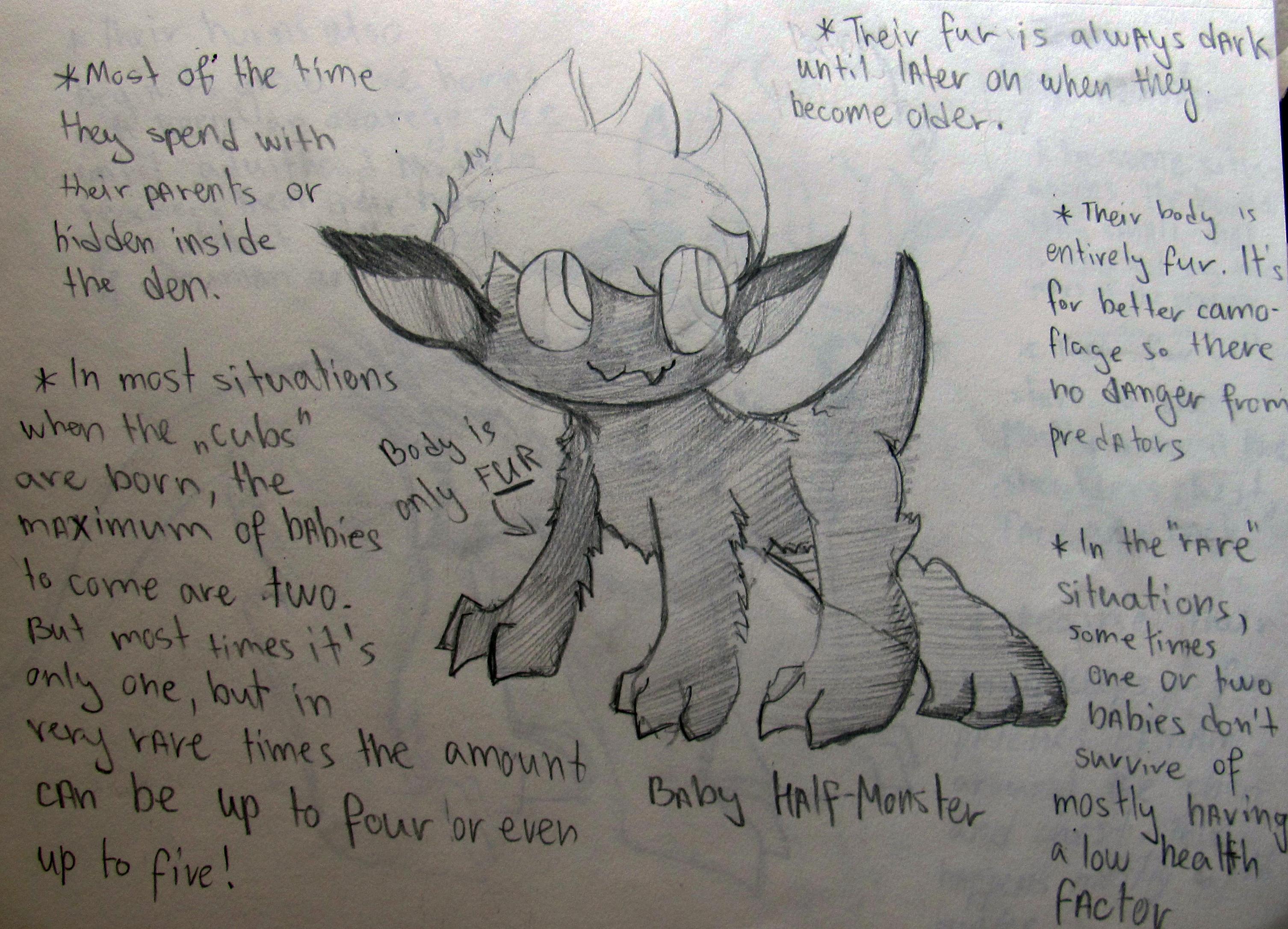 EW Half-monster AU [Stage 1] by Foziz105