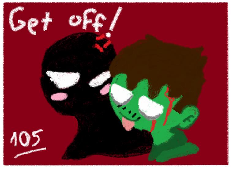 Spanish Zombies love Ghosty by Foziz105