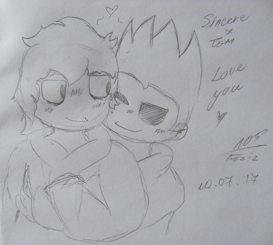 [Request] Sincere x Tom by Foziz105