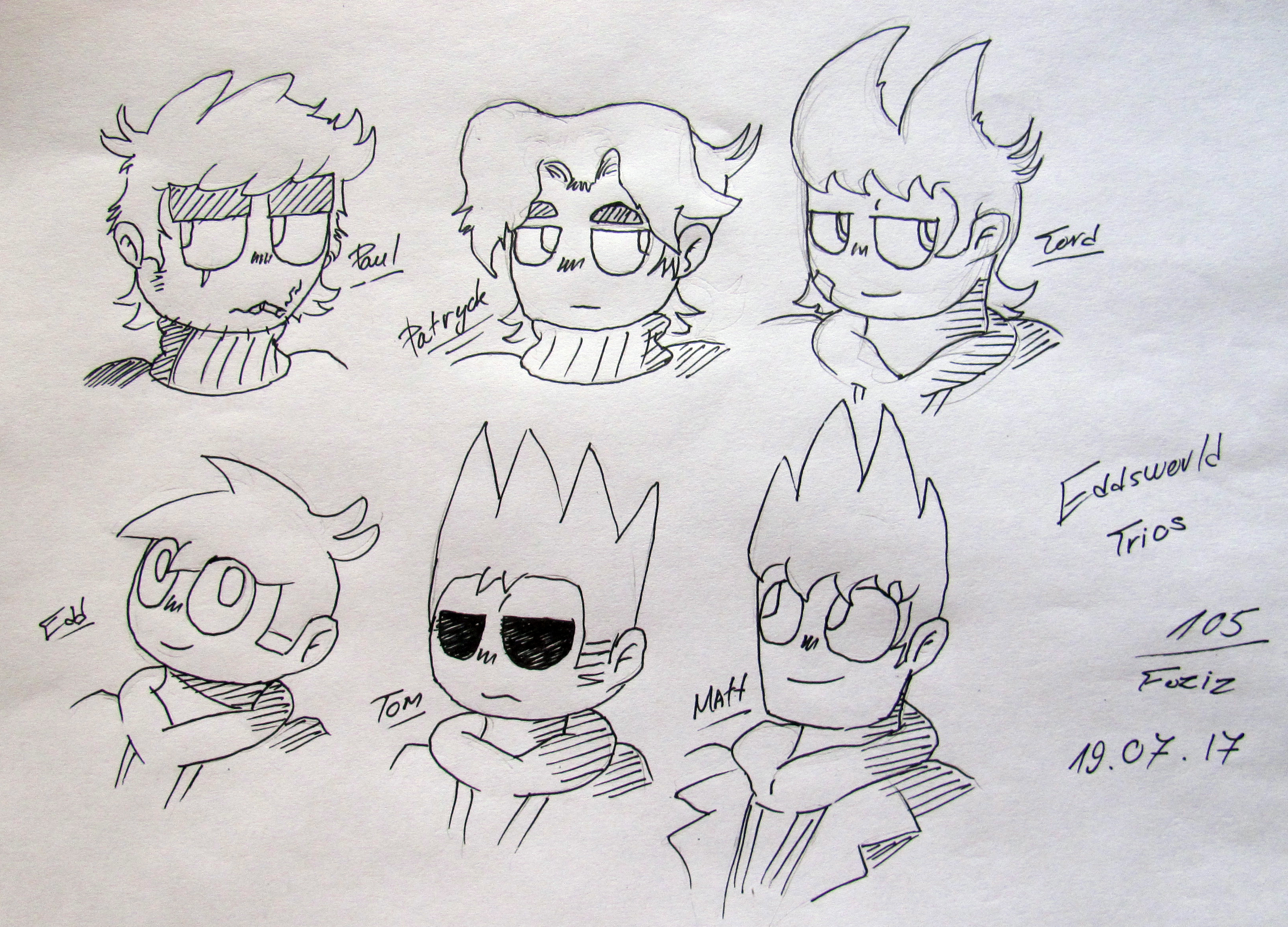 Eddsworld Trios by Foziz105
