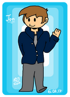 Jon [Eddsworld Fanart] by Foziz105