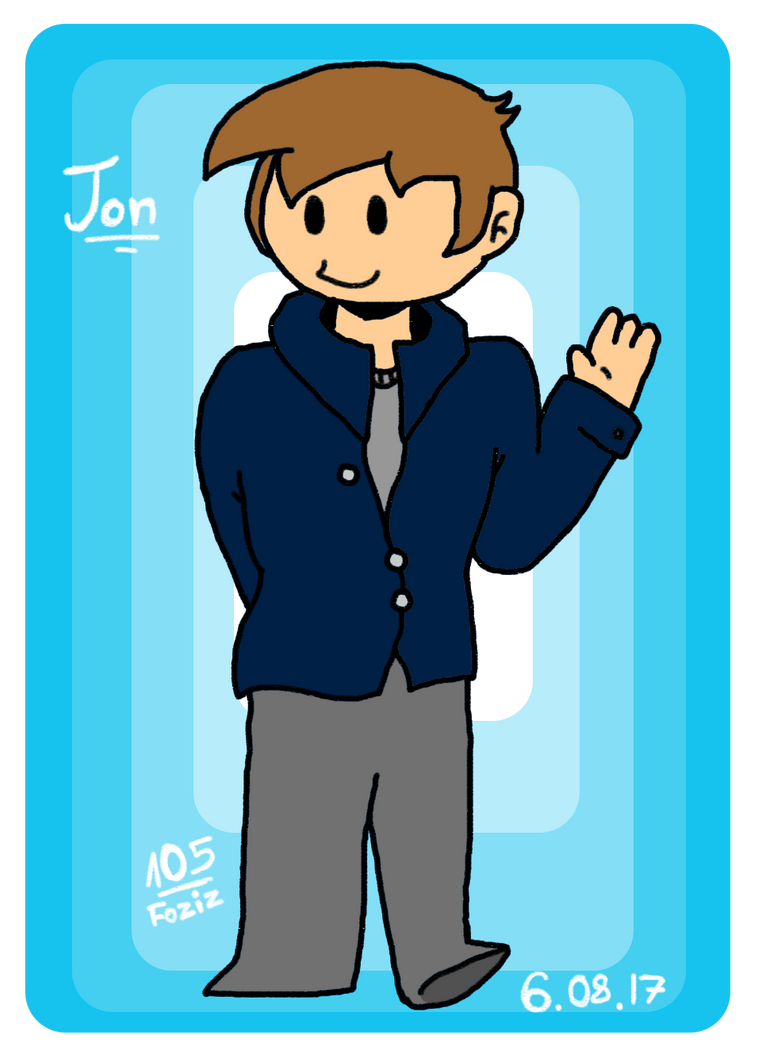 Jon [Eddsworld Fanart] by Foziz105