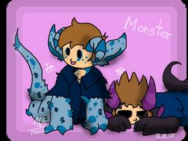 Monster Blues by Foziz105