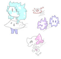 Pastel Adoptables! [READ RULES] [CLOSED] by Foziz105