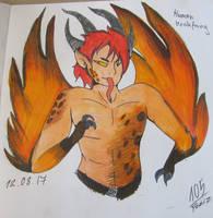 [Commission] Human Hookfang by Foziz105